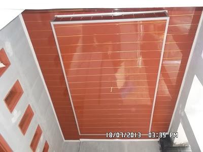 DISTRIBUTOR PEMASANG DAN JUAL PLAFON  PVC RUMAH MINIMALIS
